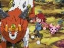 Digimon Xros Wars 20 - Dust Zone, Wielkie Złomowe Miasto Grandlocomona!
